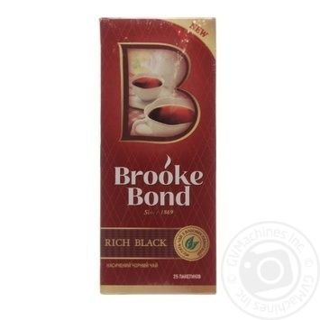 Tea Brooke bond black 45g - buy, prices for Novus - image 3