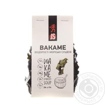 Водоросли Bakame JS сушеные 30г - купить, цены на Novus - фото 1