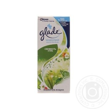 Glade Microspray Freshness of the morning is a replaceable can 10ml - buy, prices for Novus - image 1