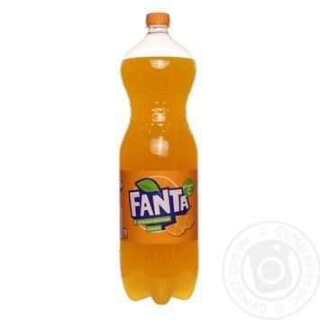 Напиток Фанта Апельсин 2л - купить, цены на Novus - фото 1