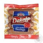 Sausages Dakota turkey chilled 360g