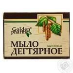 Soap Golden pharm solid dehtyarne 70g Ukraine