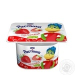 Йогурт Danone Растишка Клубника 2% 115г