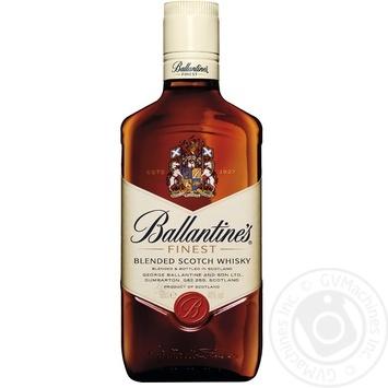 Ballantines Finest Blended Scotch Wiskey 0.5l - buy, prices for MegaMarket - image 1