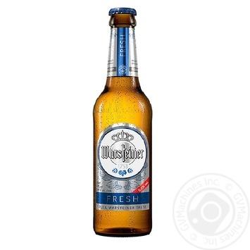 Пиво Warsteiner Fresh безалкогольное 0,33л