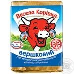 Сир плавлений 46% Вершковий Весела Корівка 90г