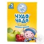 Сок Чудо-Чадо яблочно-вишневый с 4-ех месяцев 200мл