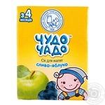 Сок Чудо-Чадо сливочно-яблочный с мякотью и витамином С с 3-ох месяцев 200мл