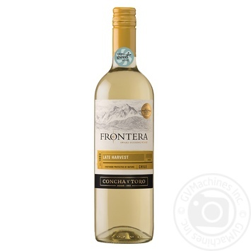 Frontera Late Harvest White Sweet Wine 13% 0,75l - buy, prices for Novus - image 1