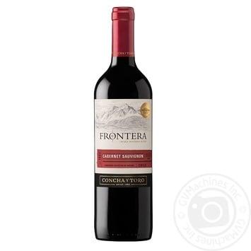 Вино Frontera Каберне Совіньон червоне напівсухе 13% 0,75л