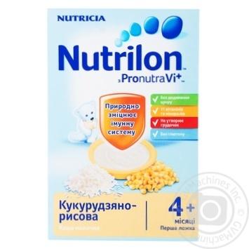 Каша детская Нутриция Нутрилон молочная кукурузно-рисовая с 4 месяцев 225г