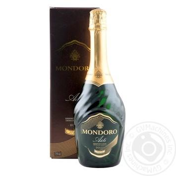Вино ігристе Mondoro Asti Dolce DOCG в кор.7,5% 0,75л