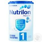 Суміш молочна Нутриція Нутрилон 1 суха з пребіотиками для дітей з 0 до 6 місяців 800г