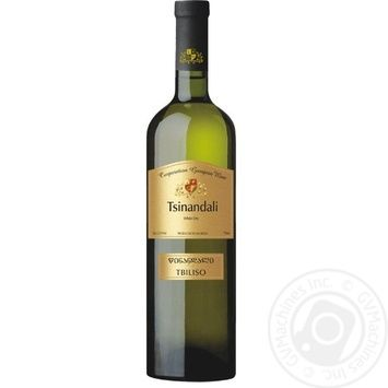Вино CGW Tbiliso Tsinandali белое сухое 12.5% 0,75л