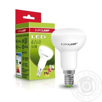 Лампа Eurolamp LED ЕКО D R50 6W 3000K E14