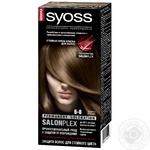 Cream-paint Syoss dark brown for hair