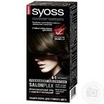 Cream-paint Syoss chestnut for hair