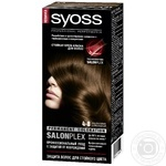 Color Syoss chocolate chestnut for hair 115ml