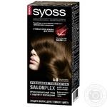 Крем-краска для волос Syoss с технологией Salonplex 4-8 каштановый шоколадный