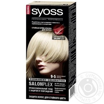 Color Syoss pearl silver for hair 115ml