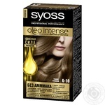 Color Syoss dark brown ammonia free for hair