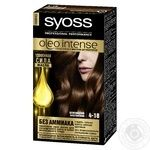 Краска для волос Syoss Oleo Intense без аммиака 4-18 шоколадный каштановый