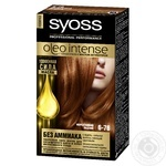 Краска для волос Syoss Oleo Intense без аммиака 6-76 мерцающий медный