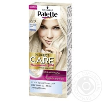 Cream-paint Palette Perfect care ammonia free for hair 110ml