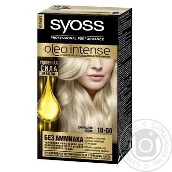 Фарба для волосся Oleo intense 10-50 Димчатий блонд 110мл