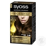 Краска для волос Syoss Oleo Intense без аммиака 3-86 Шоколадный мокко 115мл