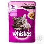 Whiskas With Salmon In Sause For Adult Cats Food - buy, prices for Furshet - image 3