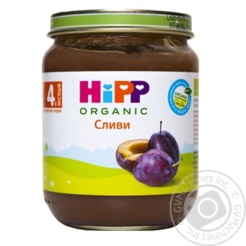 Hipp for children from 4 months plum puree 125g - buy, prices for CityMarket - photo 1