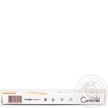 Воск Lady Caramel ванильный полоски для депиляции тела для чувствительной кожи 16шт - купить, цены на Novus - фото 4