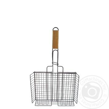 Решетка для овощей антипригарная 25*32см - купить, цены на Ашан - фото 1