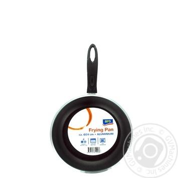 Сковорода Aro алюминиевая d24см - купить, цены на Метро - фото 1