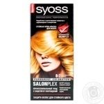 Cream-paint Syoss caramel blond for red
