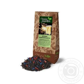 Композиция черного и зеленого чая Чайные шедевры Брызги шампанского - купить, цены на Ашан - фото 4