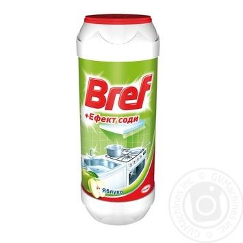Порошок Бреф Яблоко для чистки эффект соды 500г