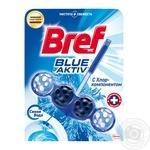 Средство для унитаза Bref Синяя вода с хлор-компонентом 50г
