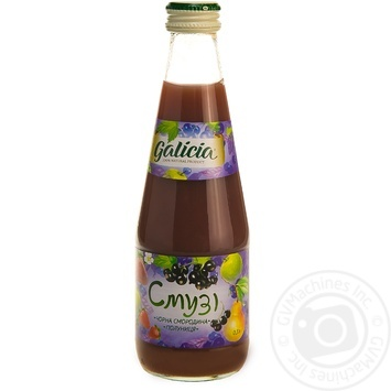 Galicia Smoothies Black currant-Strawberry 0,3l - buy, prices for Auchan - image 3