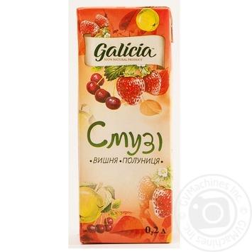 Смузі Galicia Вишня-полуниця 0,2л - купити, ціни на Ашан - фото 2