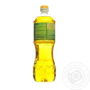 Масло подсолнечное Олейна Духмяна первого отжима 900мл - купить, цены на Novus - фото 2