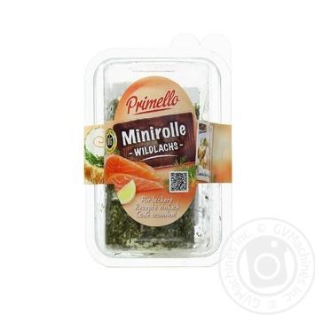 Крем-сир 45% Рол з лососем Прімелло 0,1 кг