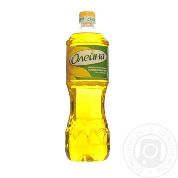 Олія соняшникова Олейна Духмяна першого віджиму 900мл - купити, ціни на Novus - фото 1