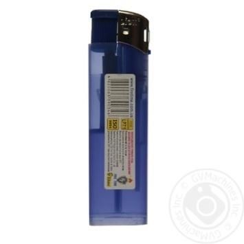 Запальничка кишенькова одноразова газова Lion Нікель LP-71 - купить, цены на Novus - фото 2