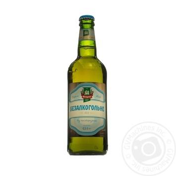 Пиво Микулинецьке Безалкогольне світле с/п 0,5л х6