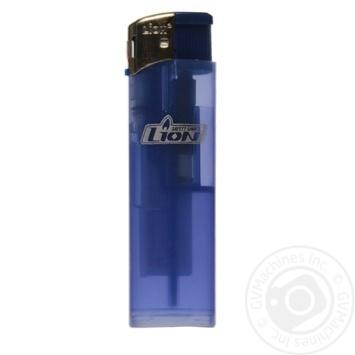 Зажигалка Lion Никель карманная одноразовая газовая LP-71