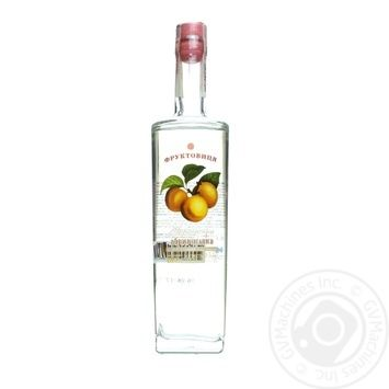 Vodka Fruktovitsya Ukrainian with apricot 40% 500ml