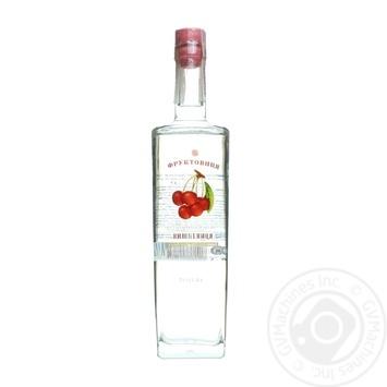 Напиток Фруктовица Вишневица Украинская крепкий плодовый 40% 0,5л