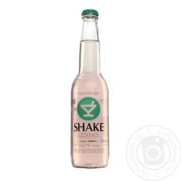 Low-alcohol drink Shake Tequila Sombrero 7%alc. 330ml